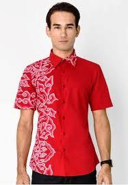 desain baju batik pria 2014 50 gambar model baju batik pria kombinasi polos yang modern