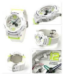 Jam Tangan Baby G Warna Merah jam tangan casio baby g bga 180 original white green jam tangania
