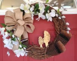 turkey feather wreath feather door wreath etsy