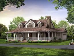 house with wrap around porch floor plan home design ideas