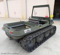amphibious vehicle for sale 1997 argo v894 37 conquest amphibious vehicle item dc3801