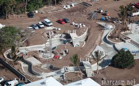 detailed aerial photo of celine dion u0027s water park on her jupiter
