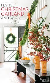 Stairs Decorations by 175 Best Christmas Greenery Images On Pinterest Christmas