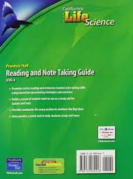 amazon com focus on life science reading and note taking guide