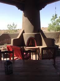 outdoor kiva fireplace lovely southwestern home pinterest