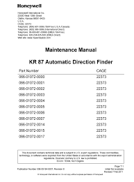 avionics maintenance manuals