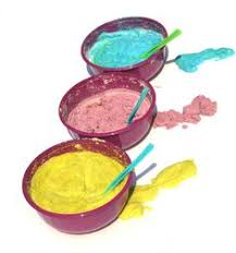 make sand dough sculptures and ornaments sand dough and s
