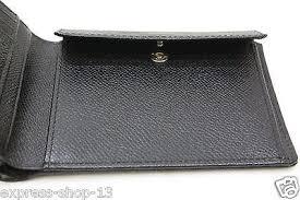 porsche design p3300 design p3300 black leather bifold wallet new