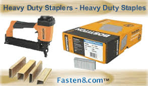 Paslode Upholstery Stapler Bostitch Staplers Narrow Wide Crown Fine Wire Staples