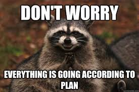 Funny Raccoon Meme - evil plotting raccoon memes quickmeme