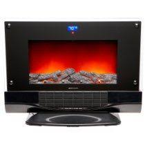 Electric Fireplaces Amazon by Wall Hanging Electric Fireplace Black Heater Remote Frigidaire 50