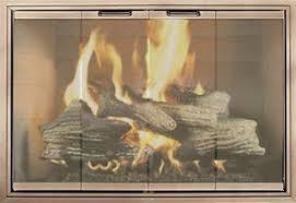 modern glass fireplace doors fireplace doors guide