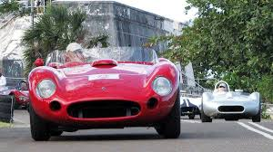 old maserati race car in pictures 1950s and 60s exotic cars show off during speed week
