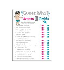 guess who baby shower game pirate theme couples shower game