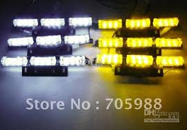 snow plow strobe lights 6x9 led snow plow car boat truck warning emergency strobe lights
