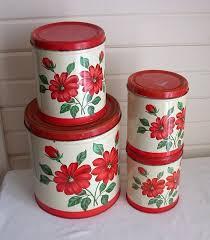 vintage retro kitchen canisters 622 best vintage kitchen canister sets images on vintage