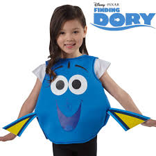 kids costume disney finding dory film dress or tabard age 2 6