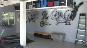 garage overhead storage racks saferacks youtube