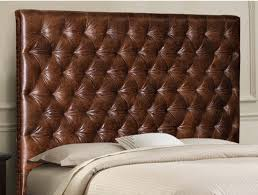 tufted headboard nailhead trim king chesterfield bed w nail trim and deep buttonless diamond