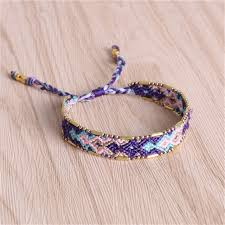 braided friendship bracelet images C quan chi bracelets jewelry bohemia multi color woven braided jpg