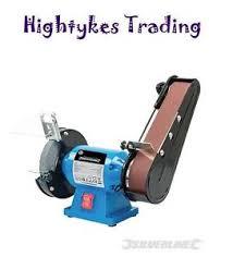 Ebay Bench Grinder - silverline metalwork bench grinder and belt sander 6 inch 612519