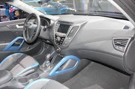 Veloster Hyundai Interior 2014 Hyundai Veloster Interiors Indian Autos Blog