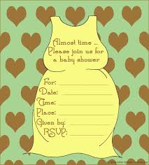 free printable invitation template neutral baby shower