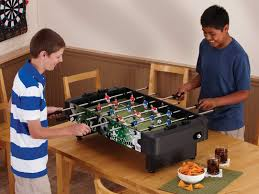 space needed for foosball table your guide to buying a foosball table for kids age size safety