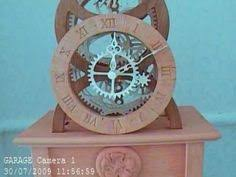 7 Free Wooden Gear Clock Plans by Free Wooden Clock Plans Wooden Clocks Pinterest Wooden Clock