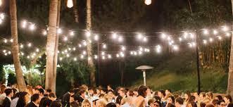 outdoor wedding lighting outdoor wedding reception lighting tips werenttables