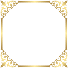 Free Halloween Borders And Frames Gold Border Frame Png Clip Art Image Gallery Yopriceville