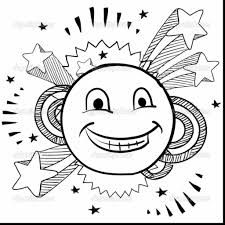 coloring pages faces new and smiley face shimosoku biz