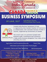chambre commerce canada indo canada chamber of commerce canada india business symposium