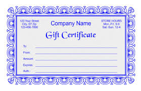 free gift certificate templates in word indesign and corel draw