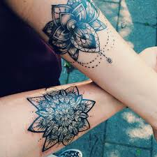 mandala tattoo koh samui this is a really cute idea for matching tats especially if they had