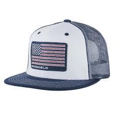 Usa Flag Hats Flag Patch Flatbill Snapback Hat Evoshield