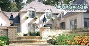 country homes custom home builders european country homes milford detroit mi