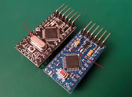 arduino pro mini 1mhz 1 8v