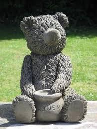 teddy garden statue everything sheryl