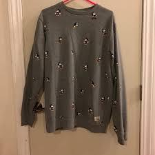 vans sweater 48 vans sweaters mickey mouse crew neck sweater from vans