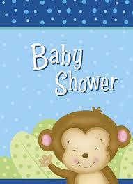 baby shower monkey boy monkey baby shower cake kit 25pc kitchen