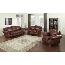 Distressed Leather Sofa by Sterling Cognac Brown Italian Leather Sofa And Loveseat Free