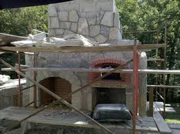 interior outdoor fireplace pizza oven commercial restroom design