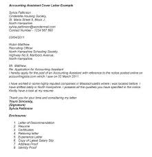 cover letter sample for fresh graduate accounting inside