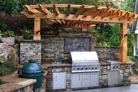 Outdoor Kitchen Bbq Designs by Picture Of Custom Outdoor Kitchen Bbq Smokers Nc Big Green Egg