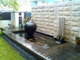 modern water features modern water feature beautifying your garden with a modern water