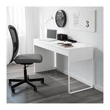 bureau faible profondeur micke bureau blanc ikea