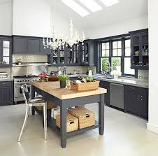 Dark Grey Kitchen Cabinets by House Revivals September 2011