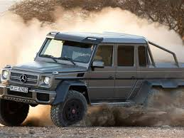 mercedes truck 6x6 find mercedes unveils awesome g63 amg 6x6 truck