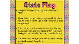Georgia Flag State Brain Wrinkles A Constitution Establishes The Relationship